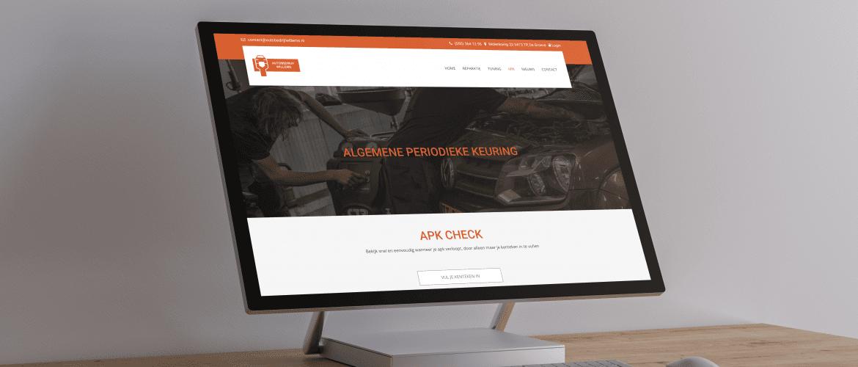 de Nieuwe website van auto bedrijf Willems!